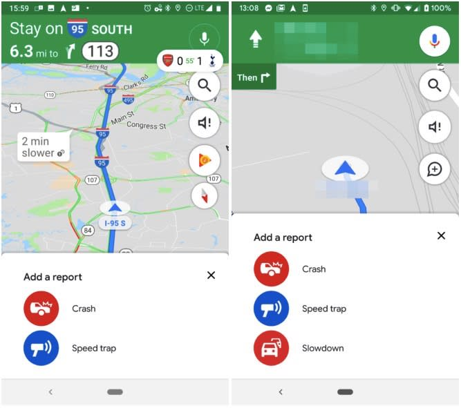 Google Maps is getting an even better incident reporting feature on apple app, gdrive app, hotmail app, facebook app, sims freeplay app, fiverr app, fox sports app, espn scorecenter app, aol app, myspace app, talktalk app, amazon app, battle.net app, fall app, traductor app, ebay app, google app, vevo app, gmail app,