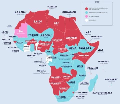 Variations on the name 'Muhammad' are common in sub-Saharan Africa - Credit: NetCredit