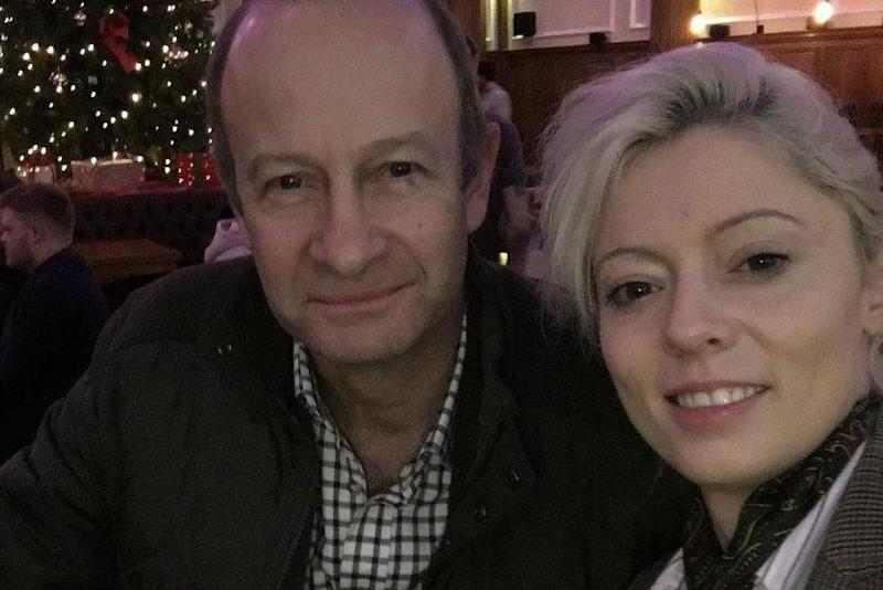 Split: Henry Bolton and Jo Marney (Twitter)