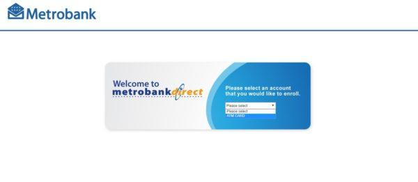Metrobank Direct Online: Everything You Need to Know - metrobank direct enrollment page