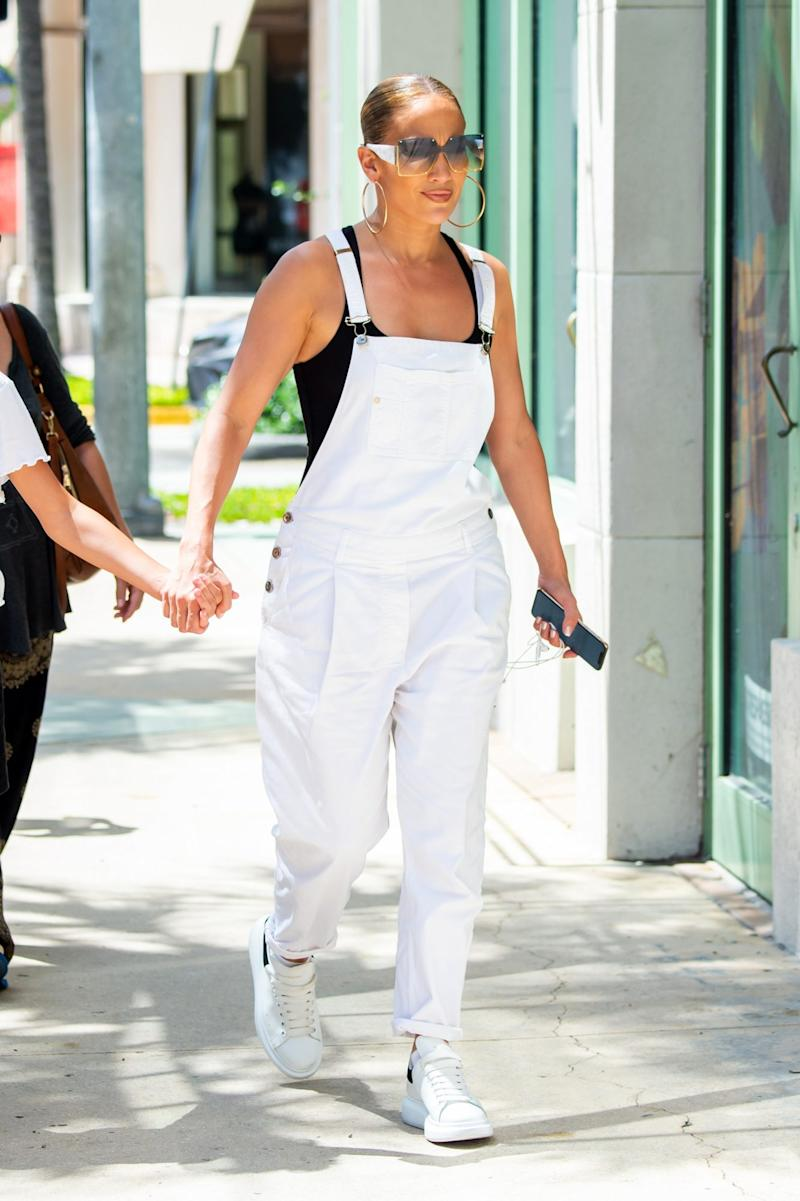 <p>JLo's Favorite Outfit</p> | <p>Splash News</p>