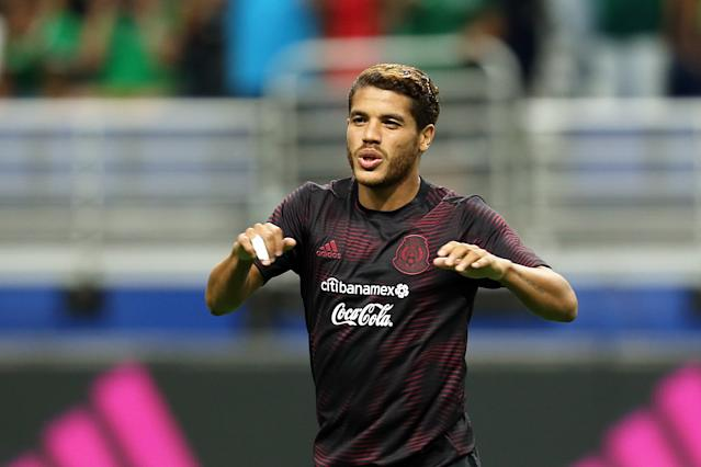 Jonathan dos Santos. / Foto: Getty Images