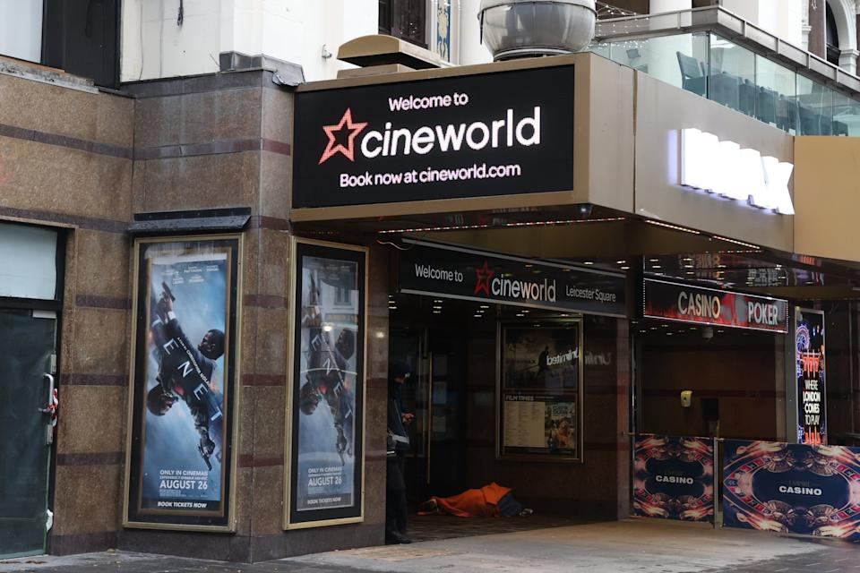 <p>Cineworld had just secured around £560 million in liquidity to see it through the pandemic </p>Nigel Howard