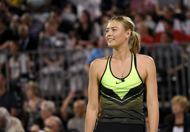 Maria Sharapova returns at Stuttgart after a 15-month doping ban