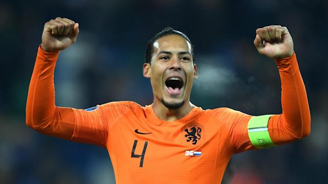 Netherlands clinched Euro 2020 qualification by drawing away to Northern Ireland, and captain Virgil van Dijk vowed to savour the success.