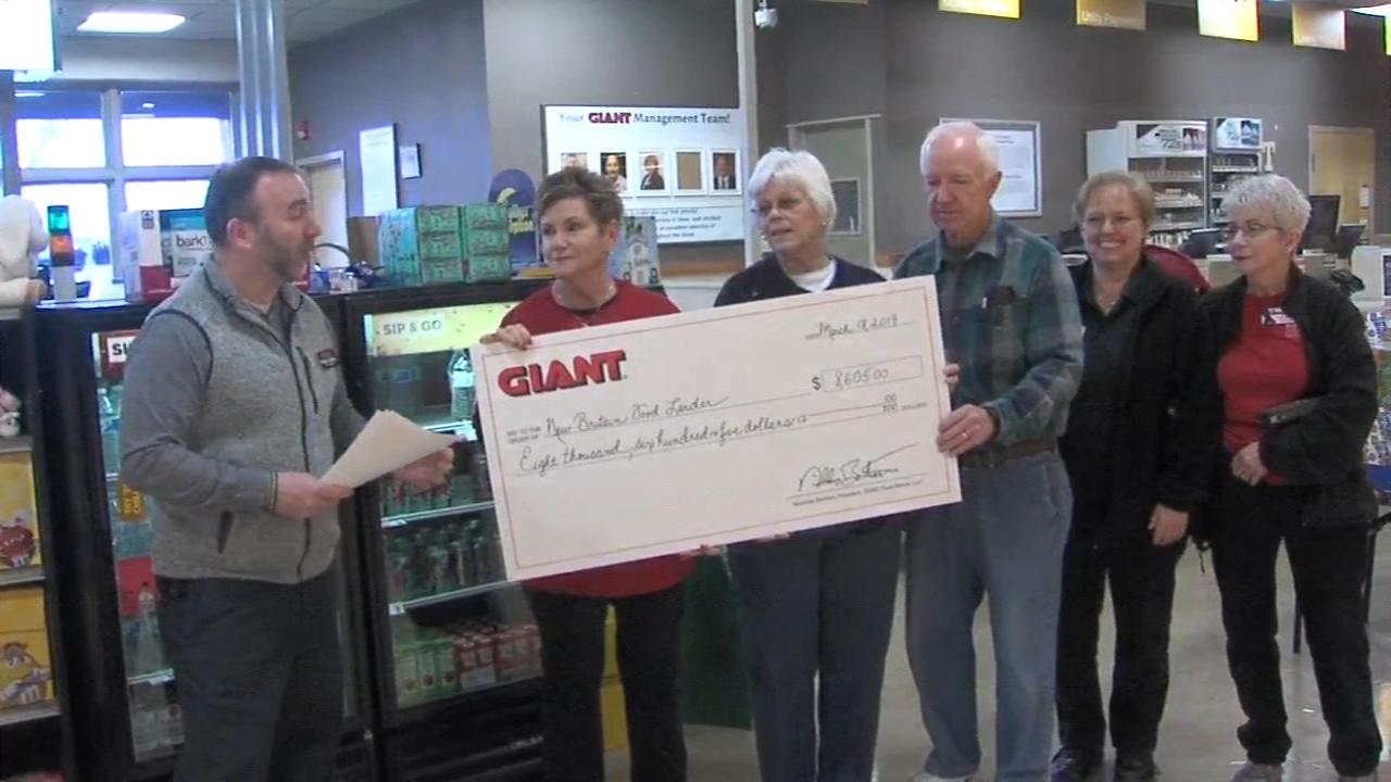 Two Bucks County food pantries can now better serve their communities, thanks to Giant and its customers.