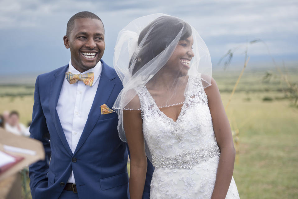 Haney's petition calls for wedding publications to feature more Black couples. (Photo: Getty Creative)