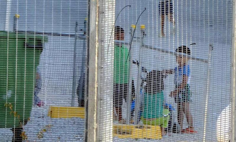 Children in the Nauru detention centre