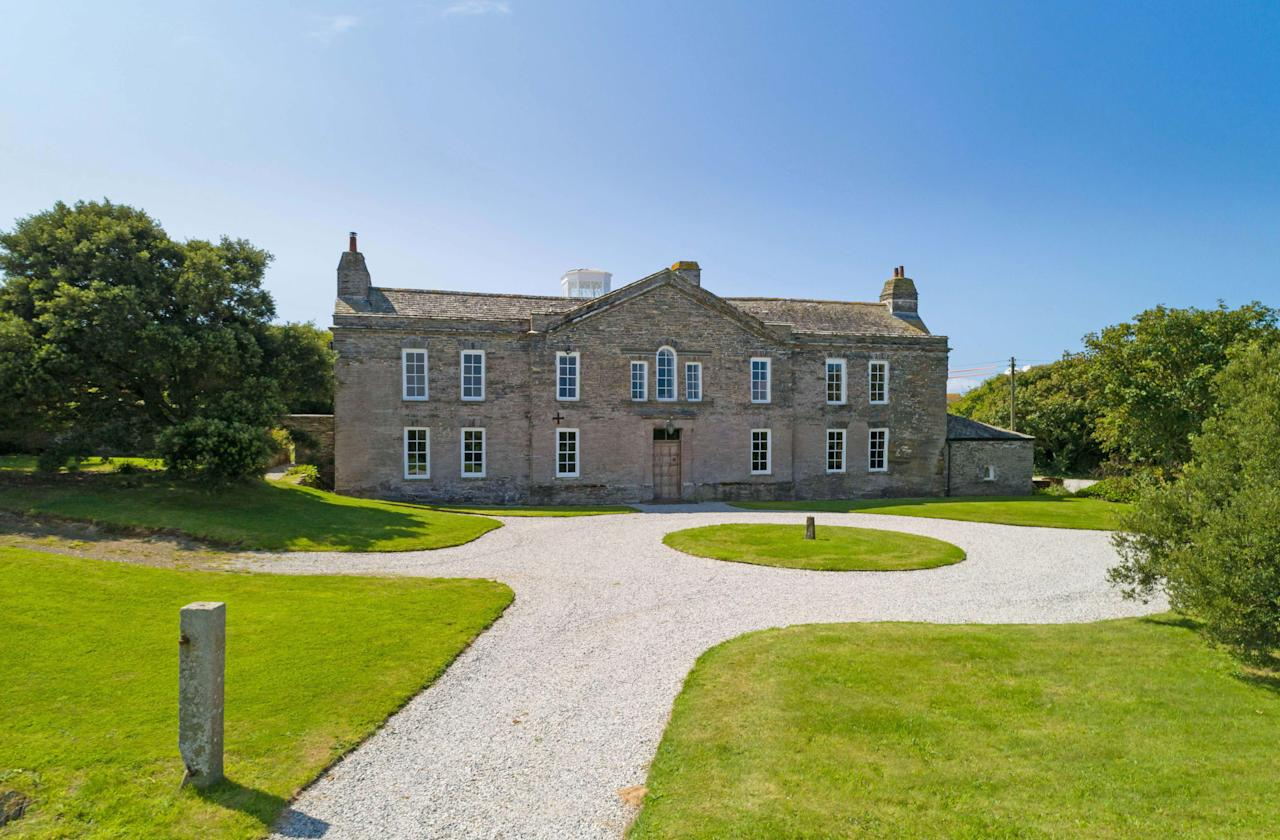 <p>Harlyn House in Cornwall has gone on the market for only the third time in its 500-year history. </p>