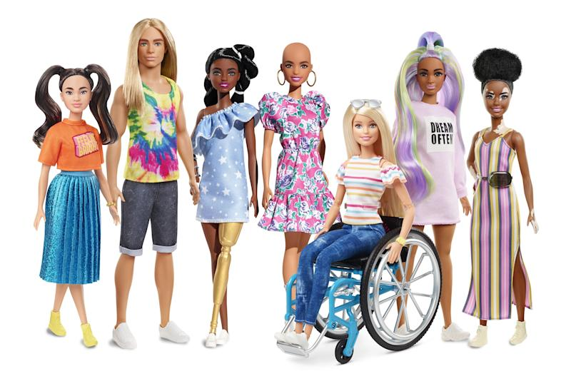 """Barbie Strives for Inclusivity With Its """"Fashionistas 2020"""" Collection"""