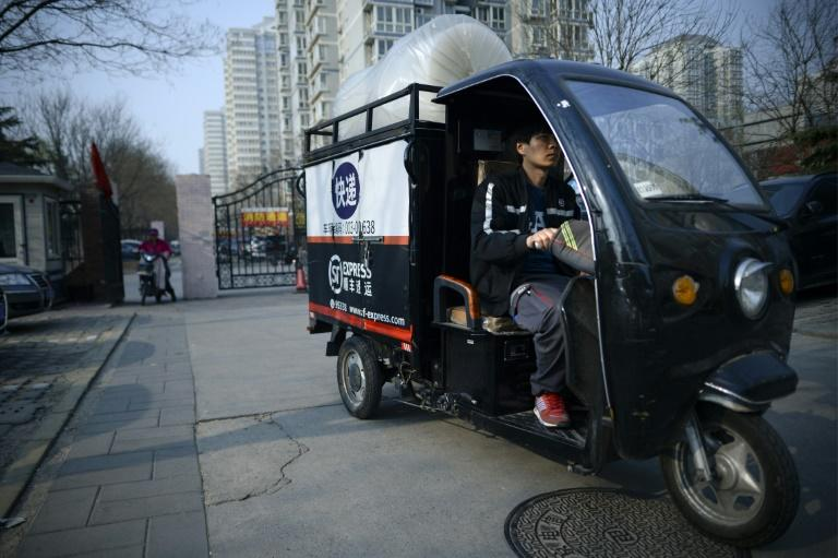 China's express delivery market is the largest in the world, representing more than 40 percent of global business in the industry