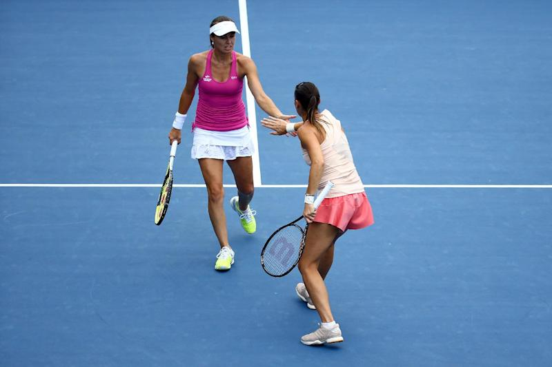 Tennis - Hingis back in major doubles final after 12 years