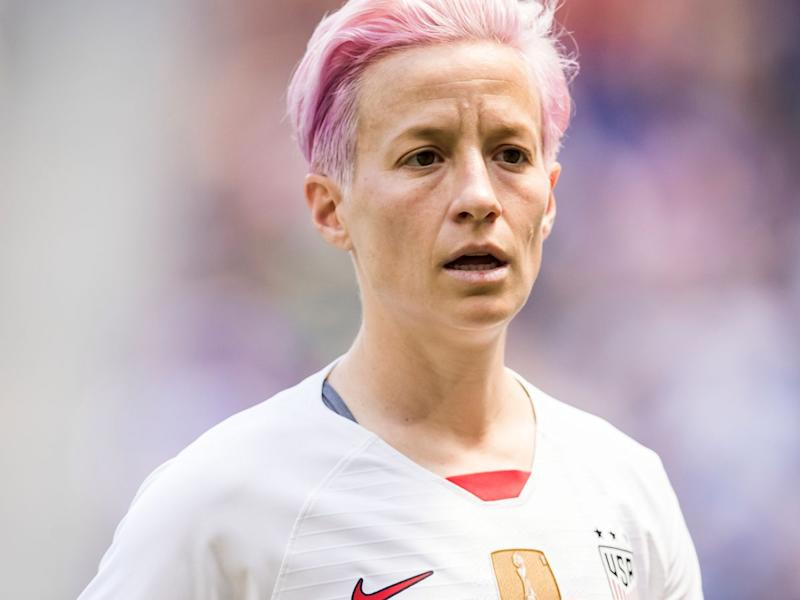 Image result for images of megan rapinoe