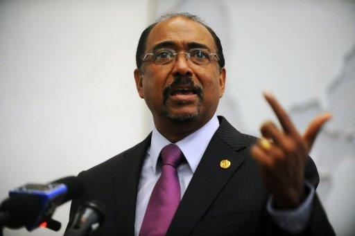 """Michel Sidibe, executive director of UNAIDS, pictured in April 2012, said, """"Finding a cure for AIDS is a critical innovation gap."""""""