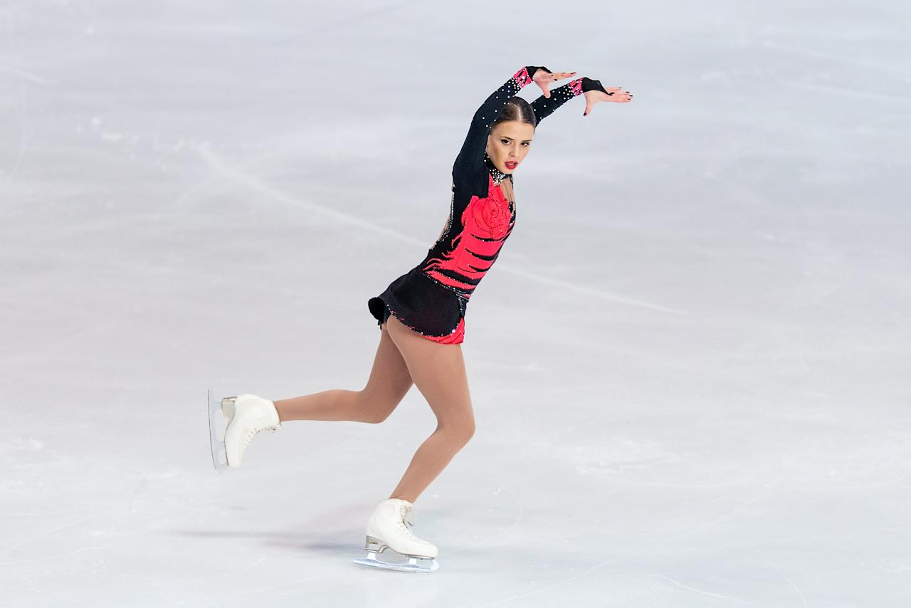 <p>Isadora Williams (Marietta, GA), Brazil, Figure skating </p>