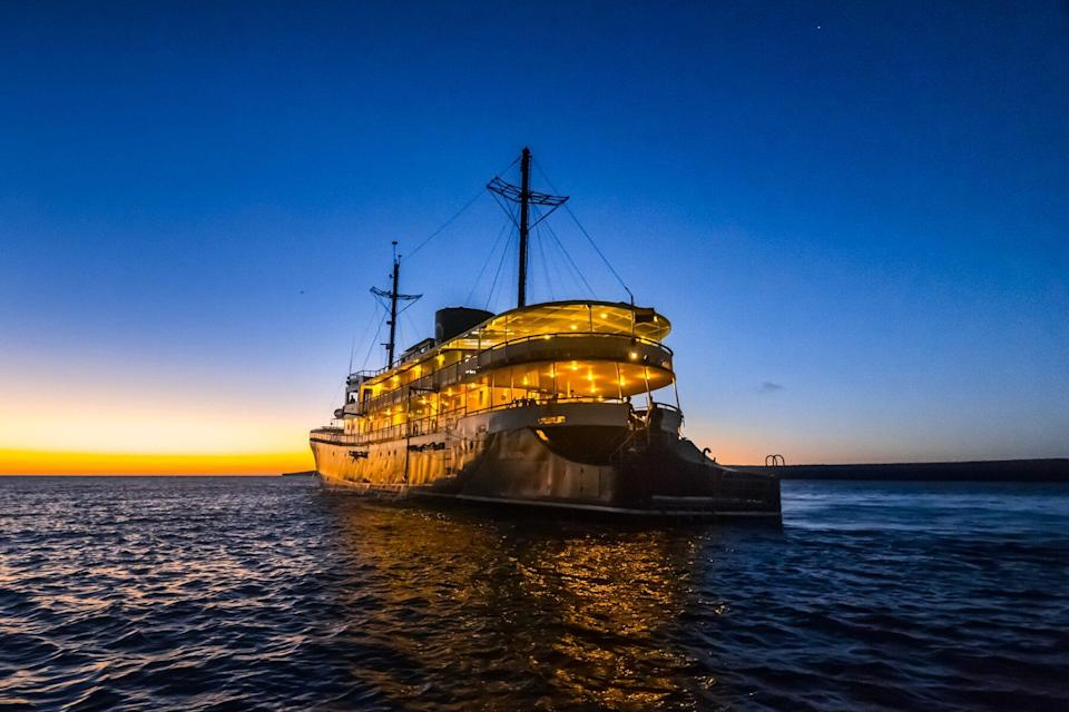 Evolution by Quasar Expeditions at night with Lights on