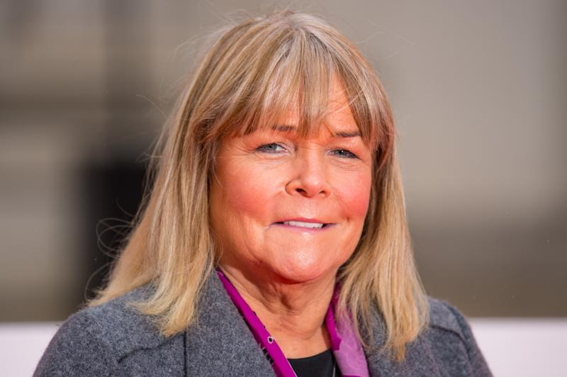 Linda Robson arriving at the Sun Military Awards, at the Guildhall, London.