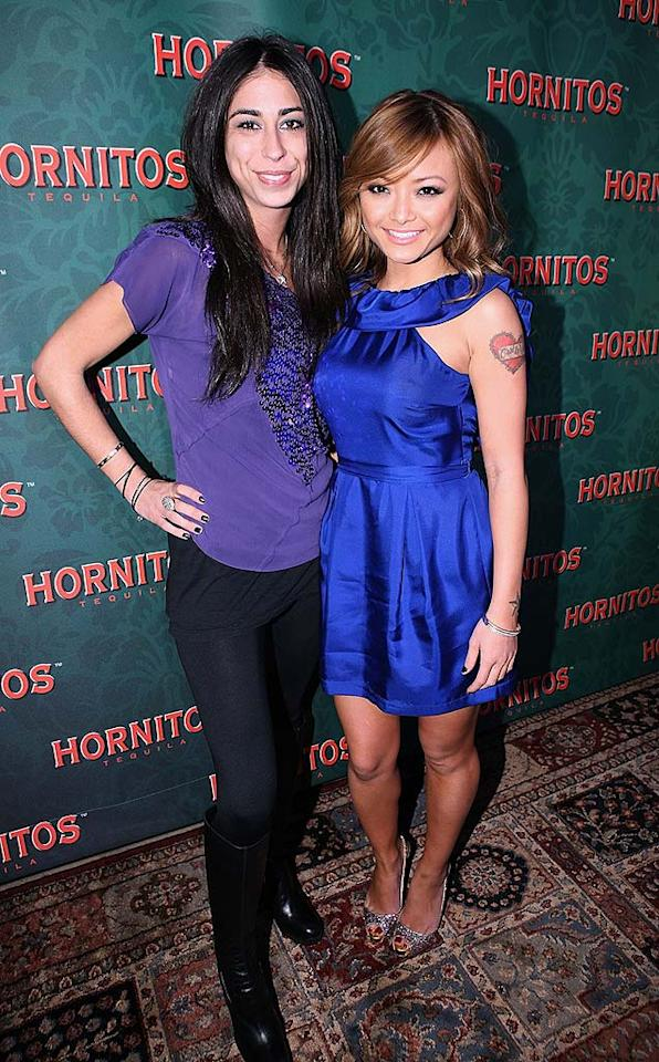 "We wonder how many shots of Hornitos Tila Tequila and her former flame Courtenay Semel took at the bash! Chris Weeks/<a href=""http://www.wireimage.com"" target=""new"">WireImage.com</a> - December 11, 2008"