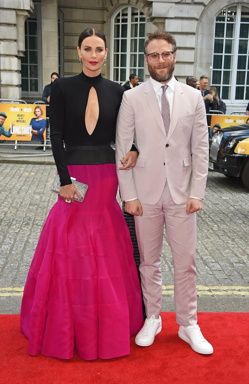 Powerful: The pair hit the red carpet premiere for their rom-com (Dave Benett)