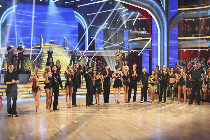 DANCING WITH THE STARS CAST, PROS AND DANCE TROUPE