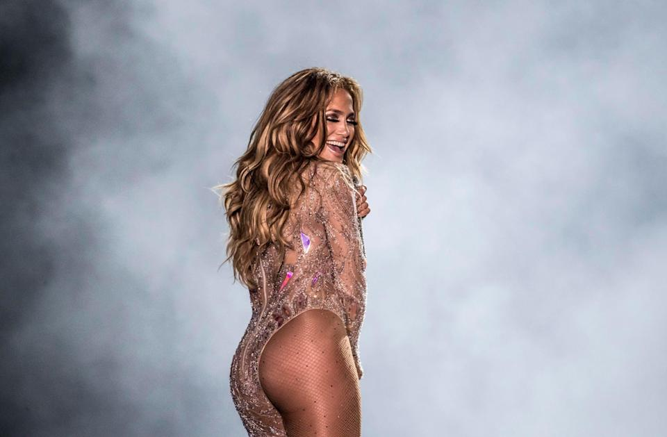 """<ul> <li>""""<a href=""""https://us.hola.com/en/celebrities/2017091310396/jennifer-lopez-cover-house-hamptons/"""" class=""""link rapid-noclick-resp"""" rel=""""nofollow noopener"""" target=""""_blank"""" data-ylk=""""slk:I'm not here to be perfect"""">I'm not here to be perfect</a> and I'm not here to be anything but my best, whatever that means for me.""""</li> <li>""""You have to <a href=""""https://www.glamour.com/story/jennifer-lopez-2007-07"""" class=""""link rapid-noclick-resp"""" rel=""""nofollow noopener"""" target=""""_blank"""" data-ylk=""""slk:remember the value of your individuality"""">remember the value of your individuality</a> - that you have something special and different to offer that nobody else can.""""</li> <li>""""<a href=""""https://www.glamour.com/story/jennifer-lopez"""" class=""""link rapid-noclick-resp"""" rel=""""nofollow noopener"""" target=""""_blank"""" data-ylk=""""slk:You've got to love yourself first"""">You've got to love yourself first</a>. You've got to be OK on your own before you can be OK with somebody else. You've got to value yourself and know that you're worth everything.""""</li> <li>""""Everybody has that in their life, people who doubt them or make them feel less than they are. <a href=""""https://www.glamour.com/story/jennifer-lopez-still-wild-at-heart"""" class=""""link rapid-noclick-resp"""" rel=""""nofollow noopener"""" target=""""_blank"""" data-ylk=""""slk:It just takes faith and belief"""">It just takes faith and belief</a> in yourself, and you've got to dig deep into that. That has to come from you - nobody's going to give you that. You can have a great mentor, a great partner, a great love in your life who gives you confidence and makes you feel great about yourself. And that's all wonderful, but at the end of the day, if you don't believe it, all of that means nothing.""""</li> <li>""""<a href=""""https://www.glamour.com/story/jennifer-lopez-2007-07"""" class=""""link rapid-noclick-resp"""" rel=""""nofollow noopener"""" target=""""_blank"""" data-ylk=""""slk:Always follow your heart"""">Always follow your heart</a>. Sometimes it's gonna hurt, but you're going to be fine.""""</li> </ul>"""
