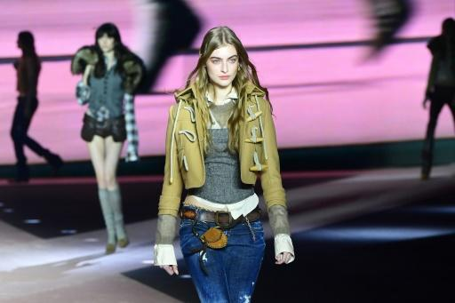 Dsquared2 went for a rugged Canadian backwoods look