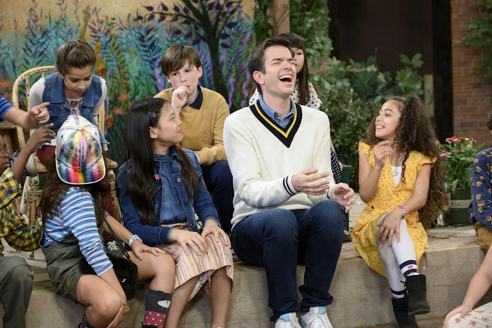 """<p>Just to be clear, <em>John Mulaney and the Sack Lunch Bunch</em> is extremely weird and niche, but its surrealism is a delight to watch. Filmed like an after-school activity, it quickly veers into weird territory and never looks back.</p><p><a class=""""link rapid-noclick-resp"""" href=""""https://www.netflix.com/watch/81104634?source=35"""" rel=""""nofollow noopener"""" target=""""_blank"""" data-ylk=""""slk:Watch Now"""">Watch Now</a></p>"""