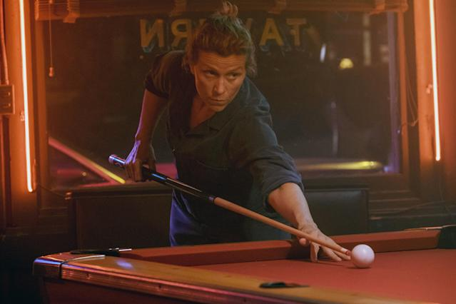 Frances McDormand in <em>Three Billboards Outside Ebbing, Missouri</em>. (Photo: Fox Searchlight Pictures c/o Everett Collection)