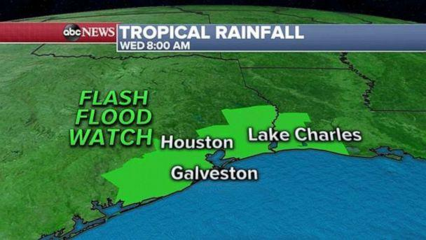 PHOTO: A flash flood watch is issued for the Houston area. (ABC News)