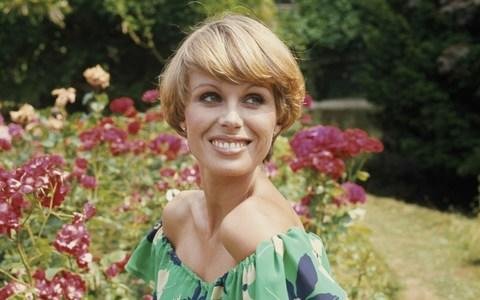 Joanna Lumley with her famous Purdey haircut - Credit: Fox Photos/Hulton Archive/Getty Images