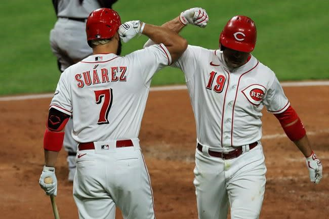 Reds, Brewers and Cardinals charging hard in NL Central