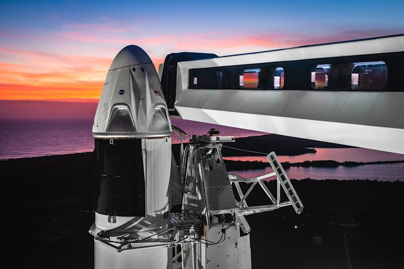SpaceX : le test de la version habitable de Dragon encore repoussé