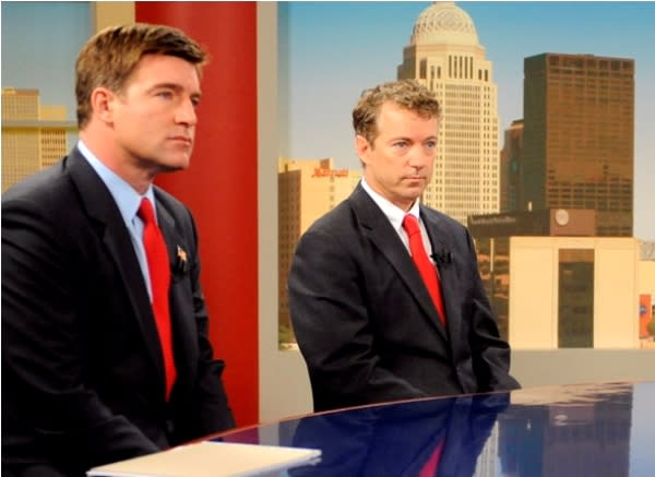 Jack Conway and Rand Paul debate on Fox News Sunday.