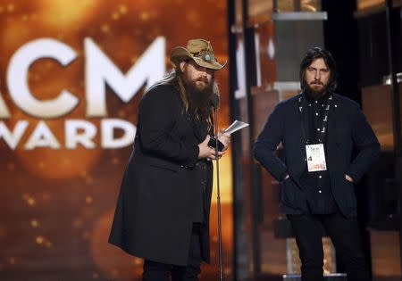 Chris stapleton scores big at country music awards for Academy of country music award for video of the year