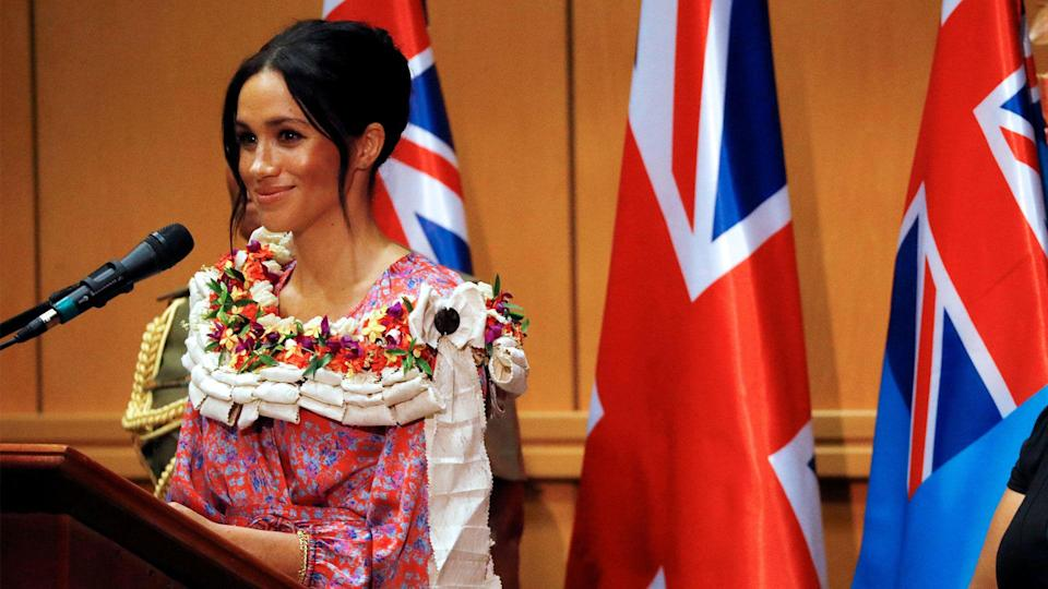 """On her official royal biography, Meghan Markle declares """"I am proud to be a"""