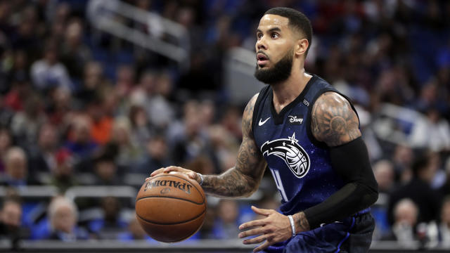 "<a class=""link rapid-noclick-resp"" href=""/nba/teams/orl/"" data-ylk=""slk:Orlando Magic"">Orlando Magic</a>'s <a class=""link rapid-noclick-resp"" href=""/nba/players/4471/"" data-ylk=""slk:D.J. Augustin"">D.J. Augustin</a>  <span>is vastly under-owned in fantasy leagues relative to his production</span>. (AP Photo/John Raoux)"