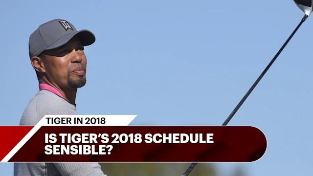 The Tour Confidential team discusses Tiger's upcoming tournament schedule and whether or not he is taking the right steps for a strong 2018.