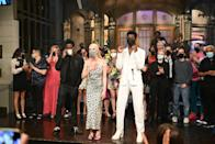 """<p>The blonde wore a leopard-print Brandon Maxwell slip dress with matching face mask to close off the show. </p><p><a class=""""link rapid-noclick-resp"""" href=""""https://go.redirectingat.com?id=127X1599956&url=https%3A%2F%2Fwww.net-a-porter.com%2Fen-gb%2Fshop%2Fdesigner%2Fbrandon-maxwell&sref=https%3A%2F%2Fwww.elle.com%2Fuk%2Ffashion%2Fcelebrity-style%2Fg36002544%2Fanya-taylor-joy-style%2F"""" rel=""""nofollow noopener"""" target=""""_blank"""" data-ylk=""""slk:SHOP BRANDON MAXWELL NOW"""">SHOP BRANDON MAXWELL NOW</a></p>"""