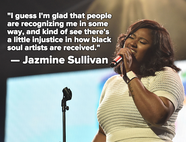 Jazmine Sullivan Says It's an Injustice Black Artists Don't Enjoy Adele's Level of Success