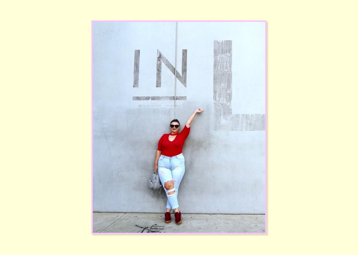 """<p><strong>Manon Edwards, <a rel=""""nofollow"""" href=""""https://www.chicwithcurves.com/"""">Chic With Curves</a></strong><br /> I have a big crush for Fashion Nova jeans. I discovered the brand a few months ago and since then, they are my go-to jeans. I'm a really picky girl when it comes to my comfort. I prefer to wear stretch denim to handle my curves, but not too much either because I don't want it to overstretch out. I am looking for jeans with some support so I can ditch the Spanx. I have curves and my jeans have to help me taking care of my curves and showing the best side of them! I am tall and I like to have some details on it as fringes at the ankles! I love the fact that these Fashion Nova jeans are classic and I can wear then with a lot of tops, tunics, and jackets.<br />Emma Distress Jeans, $40, <a rel=""""nofollow"""" href=""""https://www.fashionnova.com/collections/plus/products/emma-distress-jean-medium"""">Fashion Nova</a> </p>"""