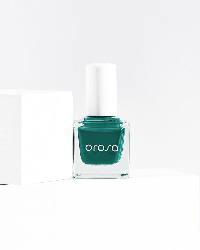 <p>Geminis are lively and funky in the best ways. A dull nail polish shade would just mute your bright personality. Instead, try a vibrant emerald green like the <span>Orosa Seat 103 Nail Polish</span> ($12).</p>