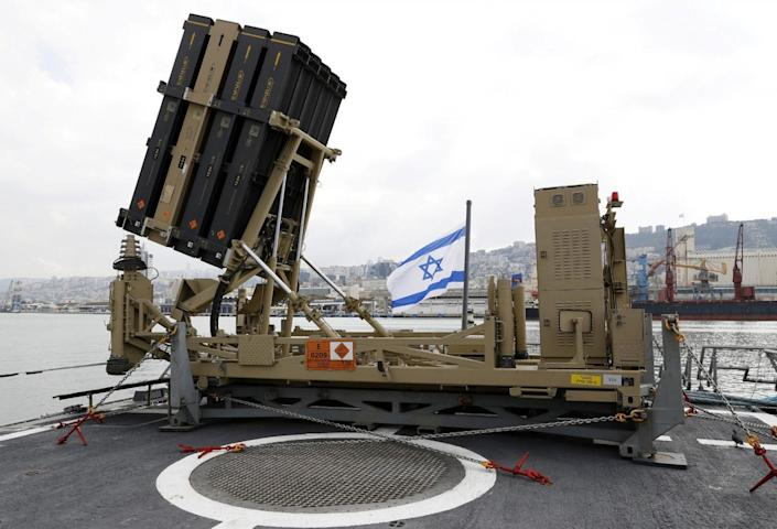 Image result for china israel iron Dome Missile
