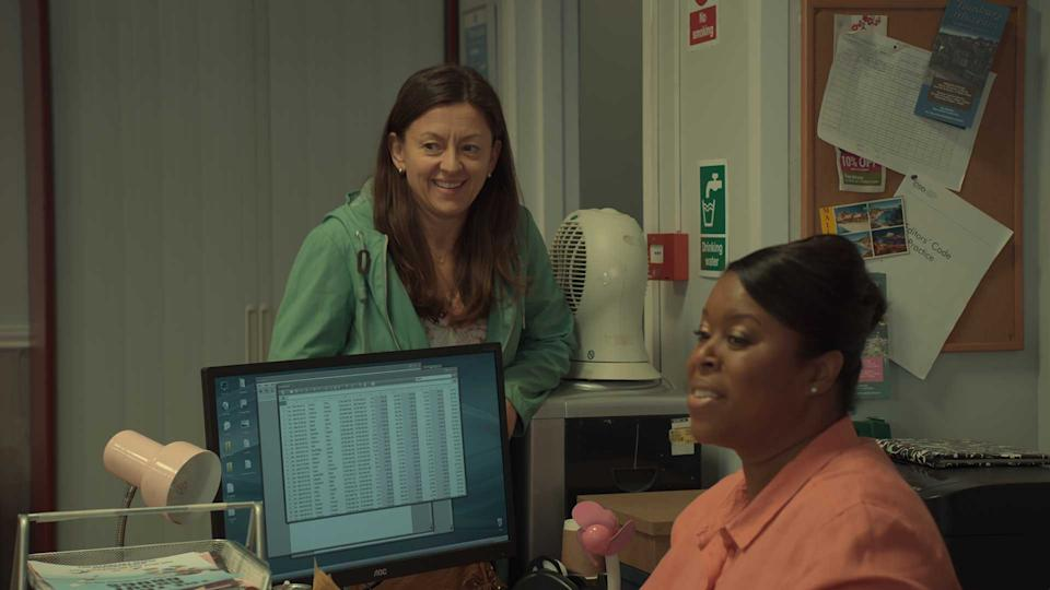 Jo Hartley in season two of After Life on Netflix
