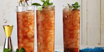 """<p>And just when you thought you couldn't love sweet tea more than you already do, this boozy ice-tea comes into play. </p><p><a href=""""https://www.goodhousekeeping.com/food-recipes/a37455/peach-sweet-tea-with-bourbon-recipe/"""" rel=""""nofollow noopener"""" target=""""_blank"""" data-ylk=""""slk:Get the recipe for Peach Sweet Tea with Bourbon »"""" class=""""link rapid-noclick-resp""""><em>Get the recipe for Peach Sweet Tea with Bourbon »</em></a></p>"""