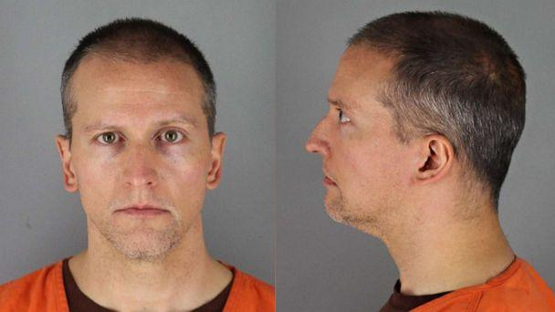PHOTO: Former Minneapolis police officer Derek Chauvin is pictured in a photo released by the Hennepin County Jail in May, 2020. (Hennepin County Jail )