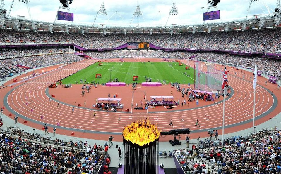 The London Olympic Games in 2012  (Martin Rickett/PA)