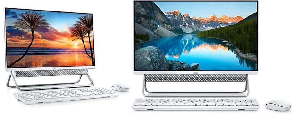 Inspiron 24 5000 Silver All-In-One with Arch Stand