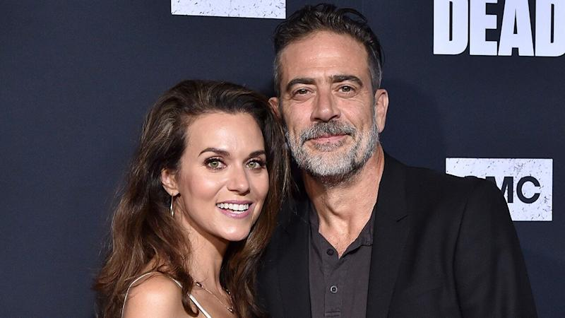 Hilarie Burton Shares the Best Family Photo on Her and Jeffrey Dean Morgan's 1-Month Wedding Anniversary