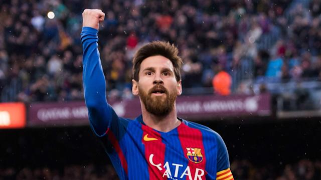 Lionel Messi is a joy to watch, according to Barcelona team-mate Paco Alcacer, Osasuna having been comfortably dispatched at Camp Nou.