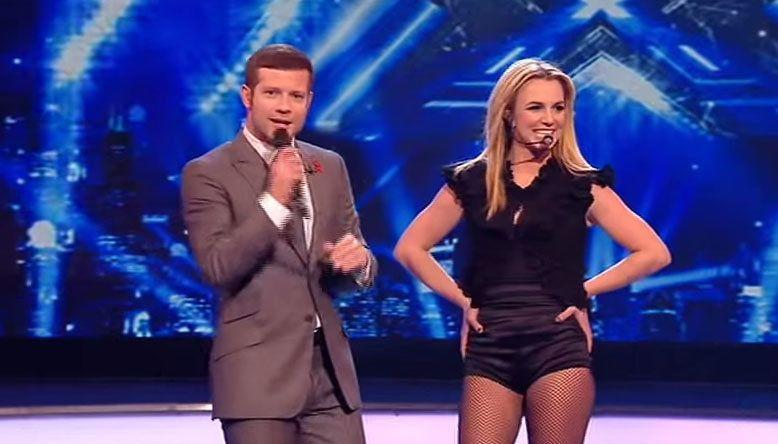Dermot: How do you think the acts got on? Britney: Awesome... the place looks beautiful and I love being here in London. Riiiiight, not quite what you were asked, but OK...